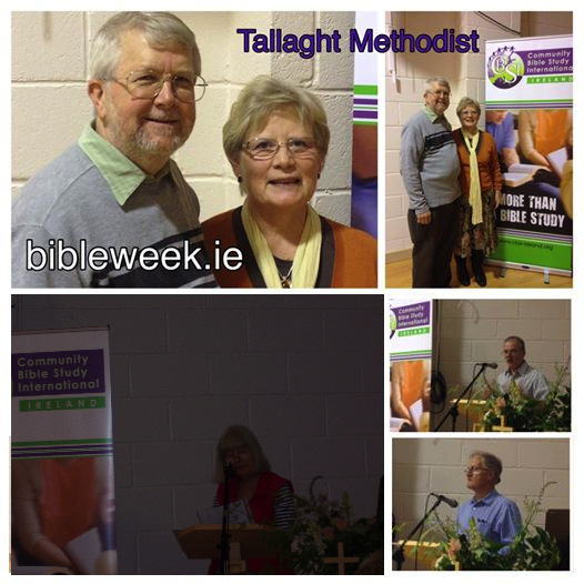 Presenting CBSI at Tallaght Methodist Church